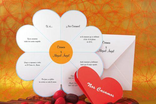 Detiketa-invitaciones-bodas-margarita-troquelada